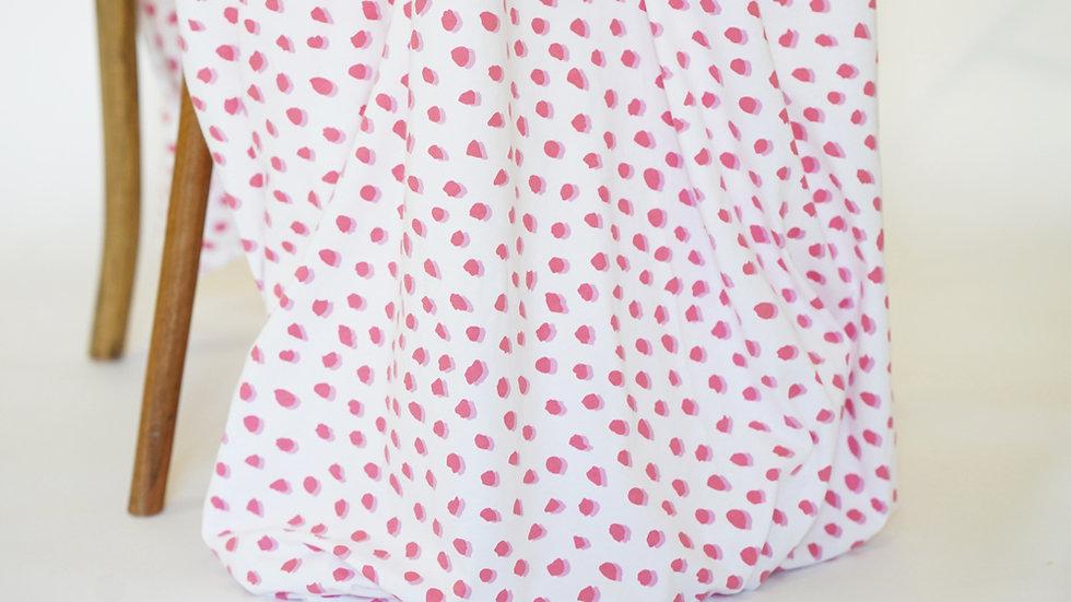 Mimi G Knit Dots Pink