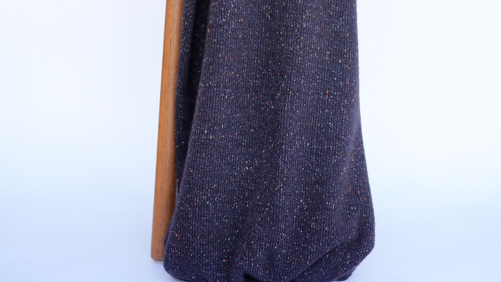 Speckle  Sweater Knit Navy