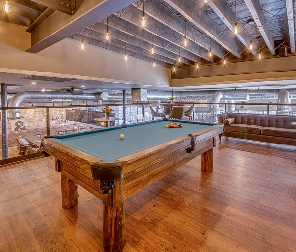 Restaurant Pool Table