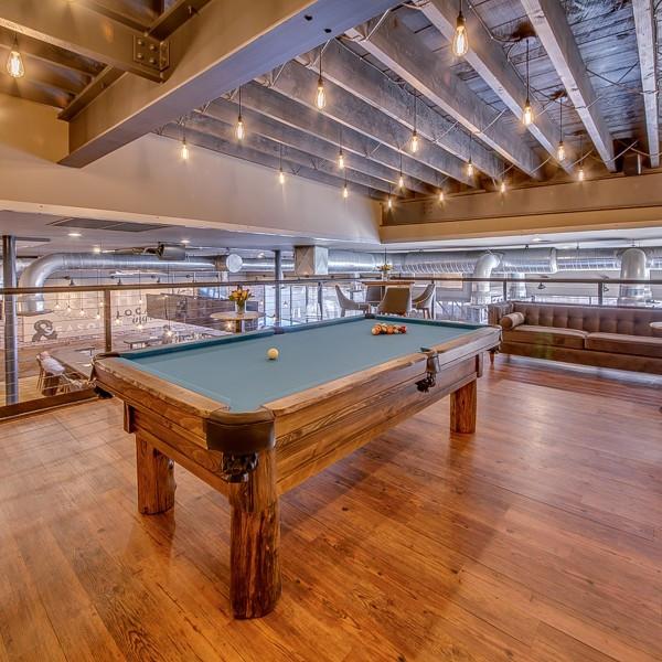 Restaurant Pool Table