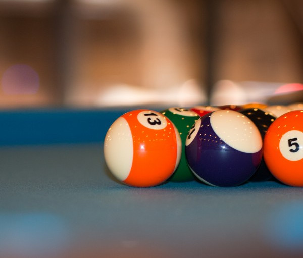 Restaurant Pool Table Detail