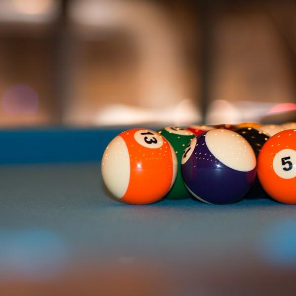 Restaurant Pool Table Detail