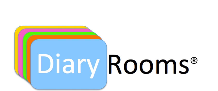 Diary Rooms brand and logo