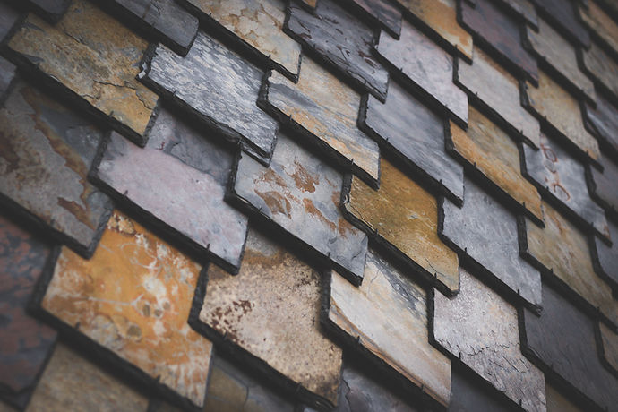 Colorful Roof Tiles