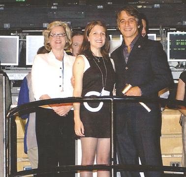 Tony Danza and Nora Regis