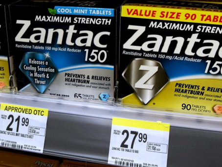 Zantac has been recalled.                  What should employees take instead?