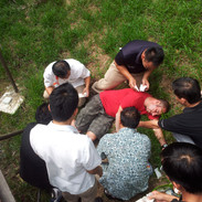 Group first aid