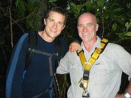 Simon with Bear