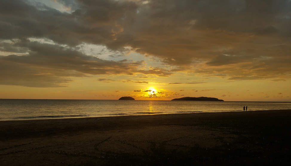 Sunset Tanjung Aru