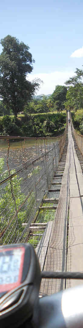 Hanging bridge Tuaran