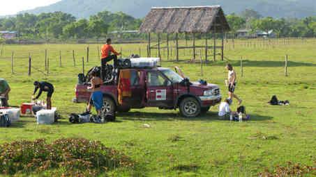 Our logistics team...