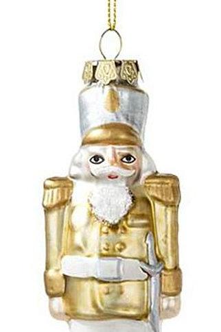 """Christbaum-Schmuck """"Nussknacker, gold"""""""