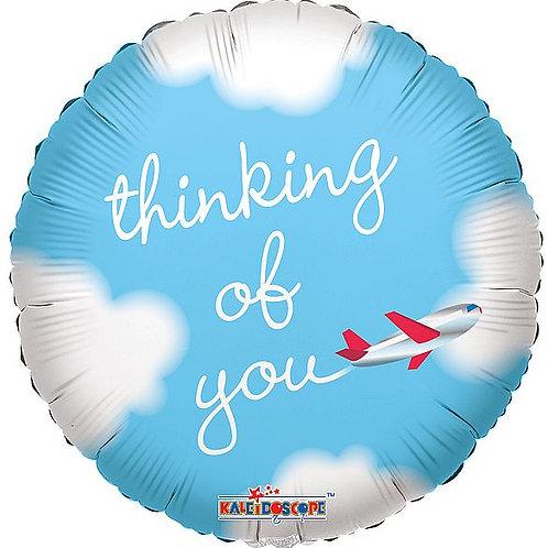 "Folienballon ""Thinking of you"""