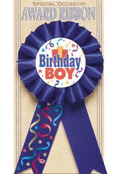 Siegerschleife Birthday Boy