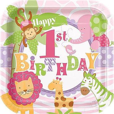 """Teller """"1st Birthday- Wild Girl"""""""