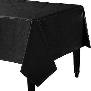 Tischdecke in schwarz