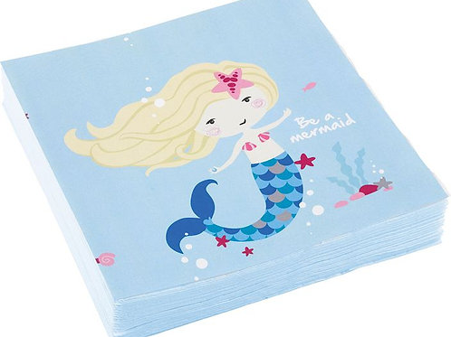 "Servietten ""Be a mermaid"""
