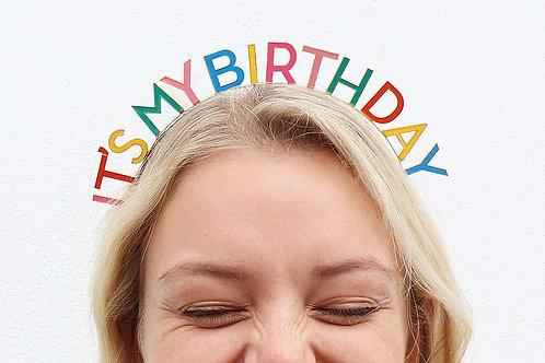 Haarreif It's my Birthday