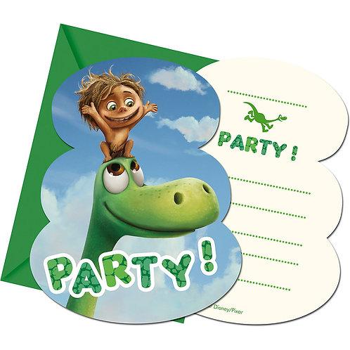 """Einladungskarten """"The Good Dinosaur"""""""