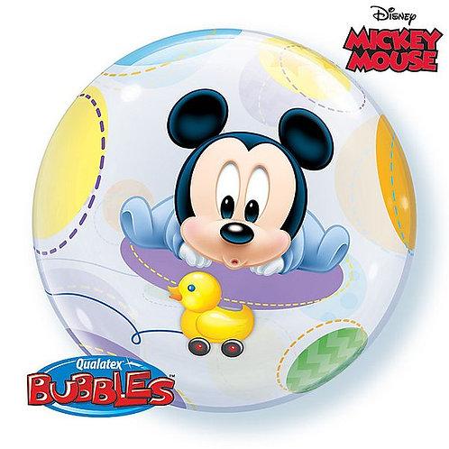 "Bubble Balloon ""Mickey Mouse Baby"""