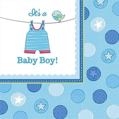 "Servietten ""It`s a Baby Boy"""