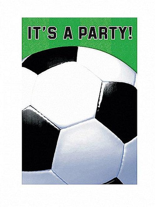 Einladungskarten Fußball