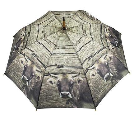 """Regenschirm """"Schweizer Kuh"""""""