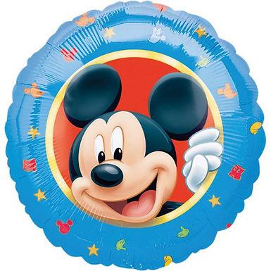 Folienballon Mickey Mouse, rund