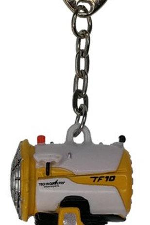 Schlüsselanhänger Propellermaschine (Schneekanone)