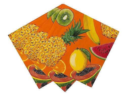 Servietten Tropische Früchte