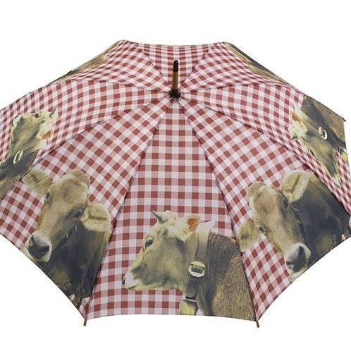 """Regenschirm """"Alpen-Kuh"""""""