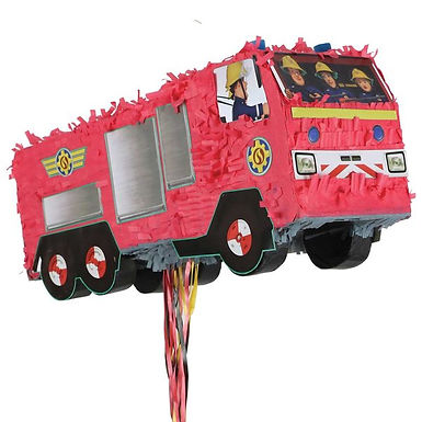 Zieh-Pinata Feuerwehrmann Sam (leer)