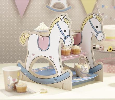 """Cupcake- / Muffin-Ständer """"Schaukelpferd"""""""