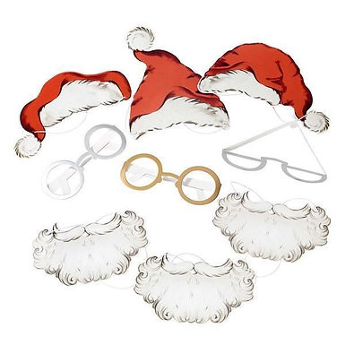 "Fotorequisiten-Set ""Santa Clause"""