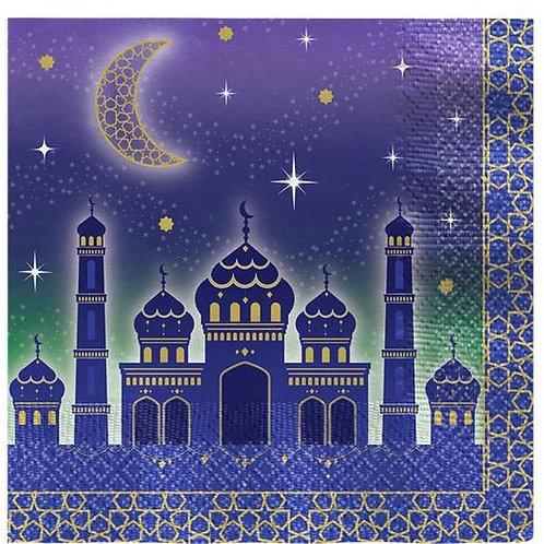 """Servietten """"Eid Mubarak"""""""