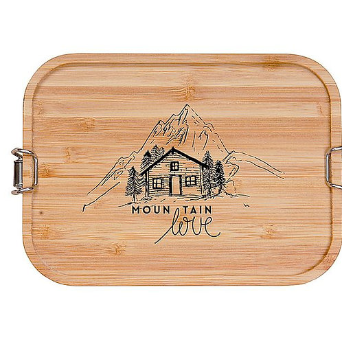 """Brotbox / Lunchbox """"Mountain Love"""""""