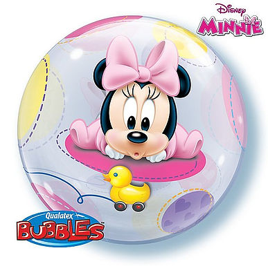 "Bubble Balloon ""Minnie Mouse Baby"""