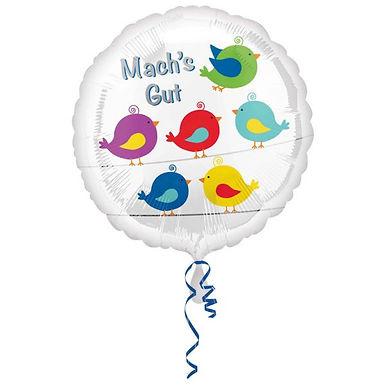 """Folienballon """"Mach`s gut"""""""