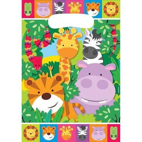 Geschenketaschen Urwaldtiere