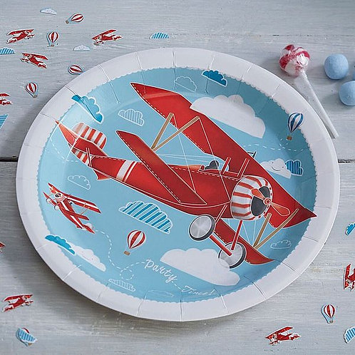 "Teller ""Flugzeug"""