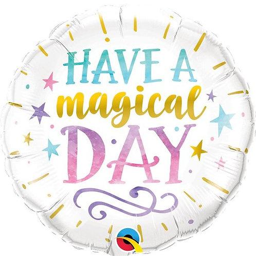 """Folienballon """"Have a magical Day"""""""