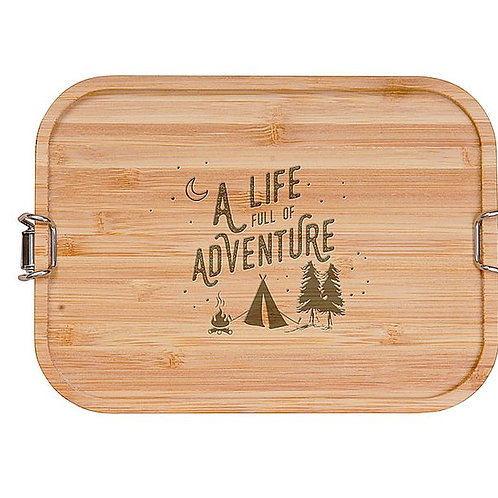 "Brotbox / Lunchbox ""A life full of adventure"""
