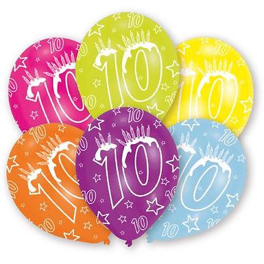 "Latexballons ""10"" bunt"