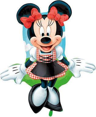 XXL-Ballon Minnie Mouse im Dirndl