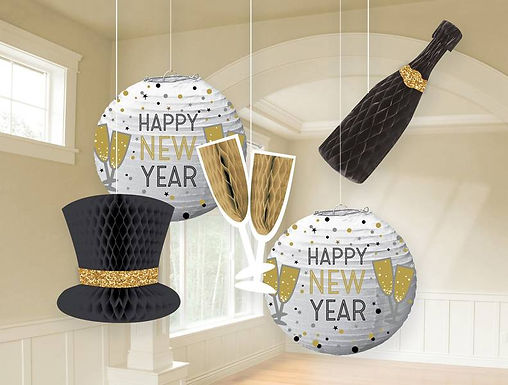 """Hängedekoration """"Happy New Year"""""""