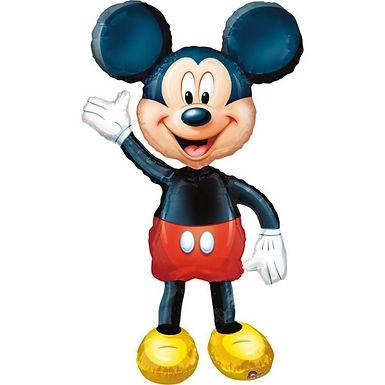 Airwalker-Ballon  (auf dem Boden stehend): Mickey Mouse
