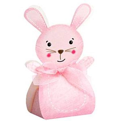 """Bonbonieren-Schachtel """"Häschen"""" in rosa, 10er Pack"""