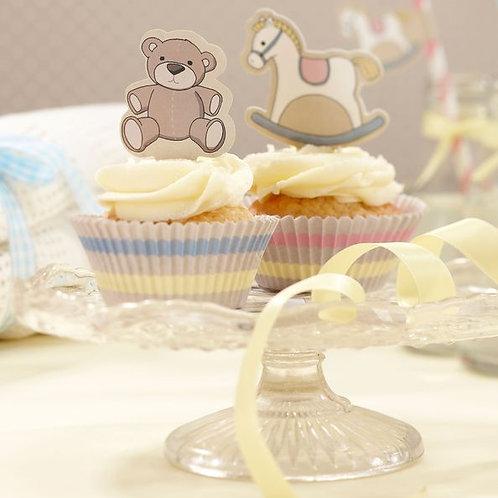 """Cupcake- / Muffin-Dekoration """"Schaukelpferd"""""""