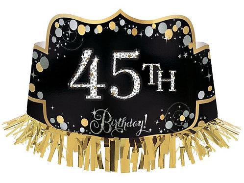 Geburtstagskrone / Alter personalisierbar