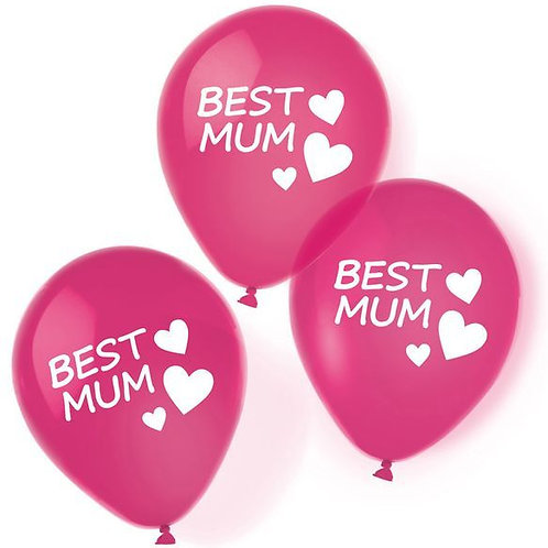 "Latexballons ""Best Mum"""